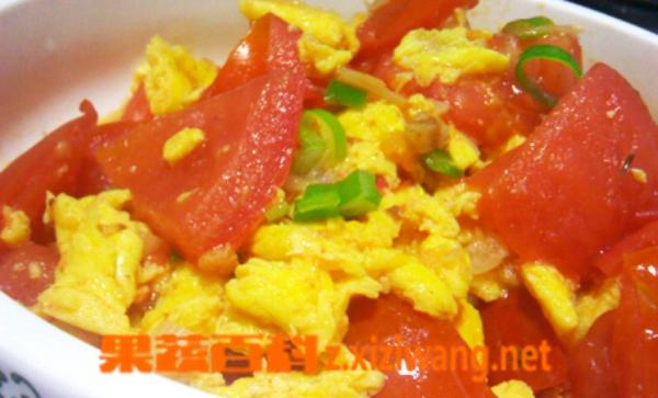 果蔬百科番茄炒蛋